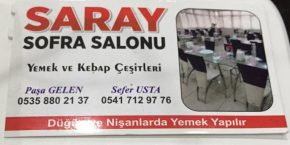Saray Sofra Salonu