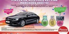 Piazza'da Alışverişe Mercedes Kampanyası Çekiliş Sonucu